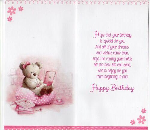 Teenager Birthday Card ~ Male /& Female Teenager Birthday Card