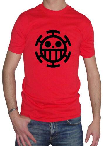 Fm10 T-Shirt Herren Trafalgar Law einer Stück Rubber Franky Brook Cartoon