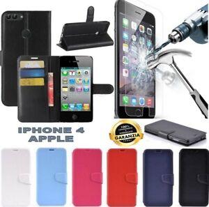 custodia portafoglio iphone 4