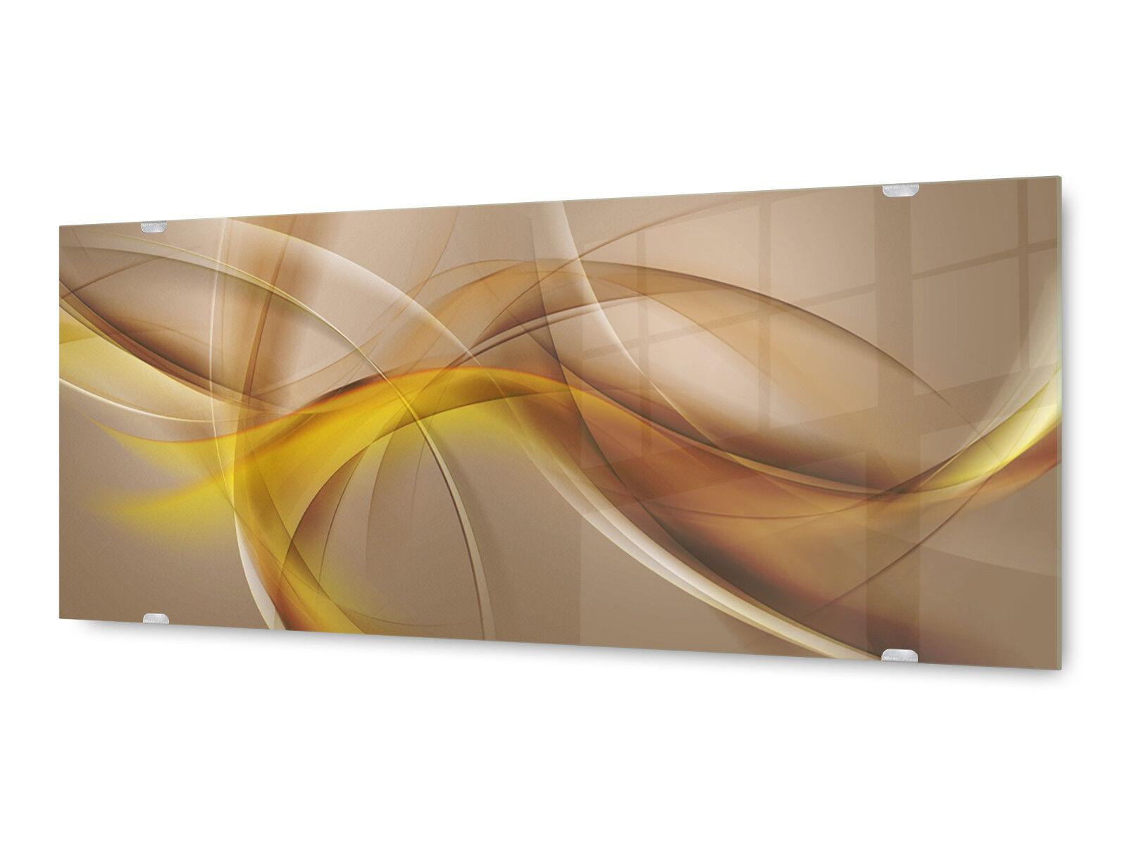 Image la fresque glx12577908953 Abstrait Vagues 125 x 50 cm