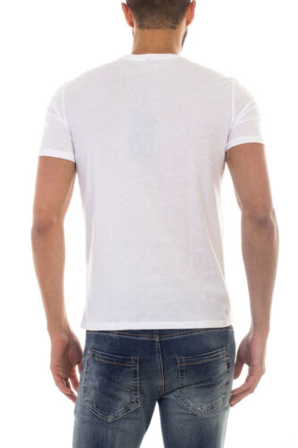 Jeans Maglietta Armani Aj T Cotone 8n6d026jpfz 1100 Shirt Uomo Sweatshirt Bianco HnU1atx