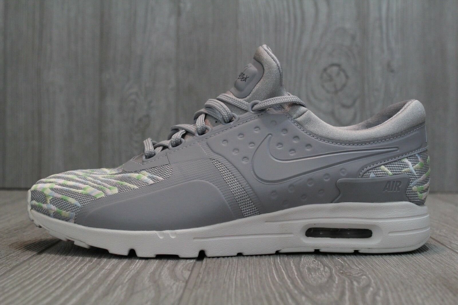 RARE Nike Air Max Zero Sample SE Grey Rainbow Shoes 896199 001 Comfortable The most popular shoes for men and women