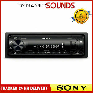 Sony DSX-GS80 Mechless 4x100W Stereo Tuner USB AUX USB Bluetooth Media Receiver