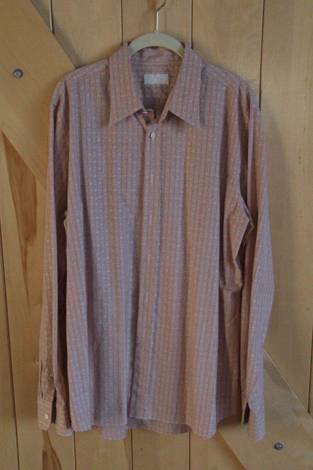 Mens Prada Button Down Shirt Size 44 17.5