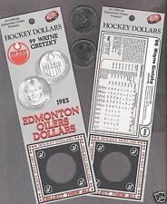 1983 Edmonton Wayne Gretzky Dollar, Gradeable Card,Coin
