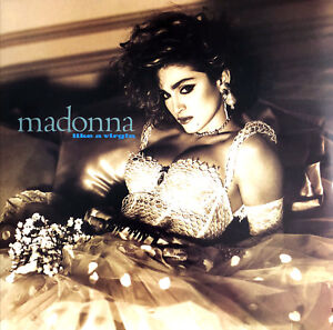 Madonna-LP-Like-A-Virgin-Limited-Edition-Clear-Vinyl-Europe-M-M