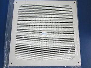 New Dukane 12 Quot Steel Baffle Speaker Cover 6a328 Ebay