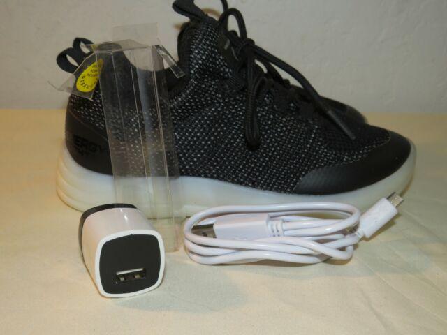 Skechers Kids 90642L Boys Energy Lights Sport Sneaker Size 13 Black