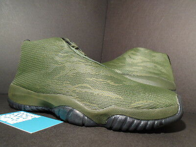 Nike Air Jordan FUTURE XI 11 CAMOUFLAGE CAMO SEQUOIA OLIVE GREEN BLACK GOLD 12