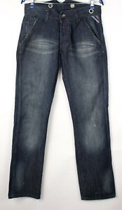 Replay Hommes Droit Jambe Slim Jean Taille W31 L34 ATZ1036