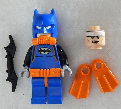 head minifigure NEW LEGO SCUBA BATSUIT BATMAN MINIFIG boxer figure 70909 movie