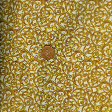Timeless Treasures Regal CM1439 CREAM 100% Cotton Fat Quarter