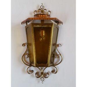 Lampen & Leuchten 622 Online Rabatt Flatz Außenwandlampe Messing Einflammig 68,5 X 35,3 X 17 Cm Art Mobiliar & Interieur