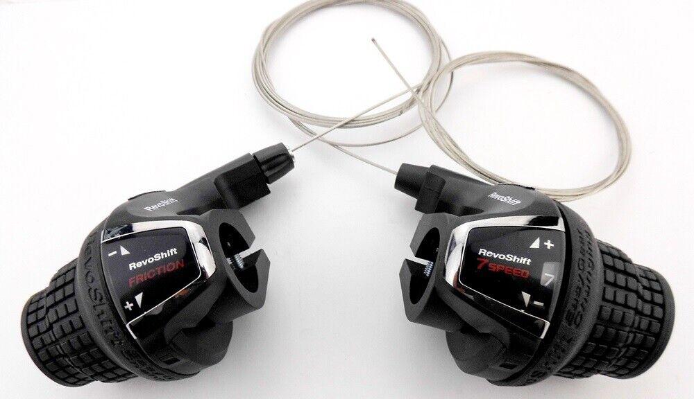 6-fach NEU Shimano SL-RV200 Tourney Revoshift Schalthebel rechts