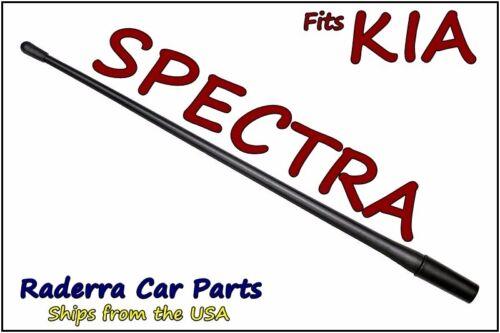 "FITS 2000-2009 Kia Spectra 13/"" SHORT Custom Flexible Rubber Antenna Mast"