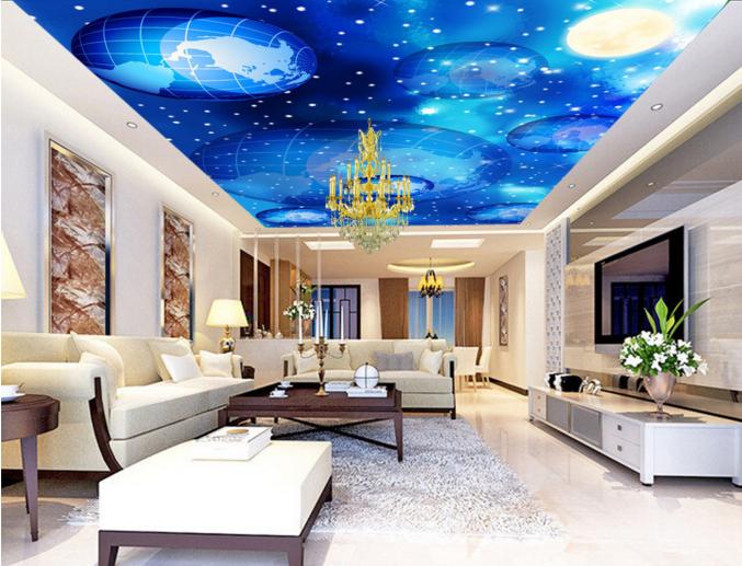 3D Erde Mond Schnee 7 Fototapeten Wandbild Fototapete BildTapete Familie DE Kyra | Creative  | Innovation  | Wonderful