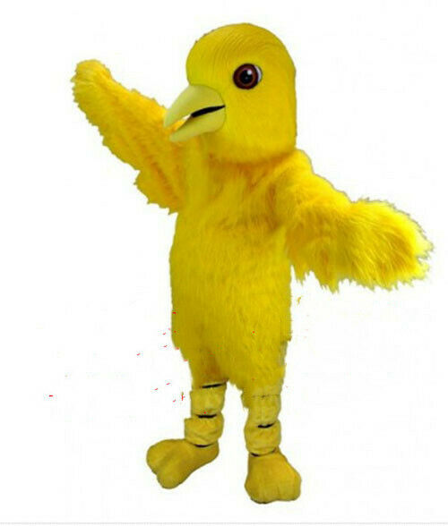Bird Mascot Costume Cosplay Dress Outfit Clothing Advertising Carnival Halloween
