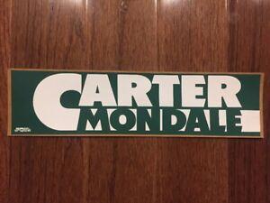 Vintage-1976-President-Jimmy-Carter-Presidential-Campaign-Bumper-Sticker-Mondale