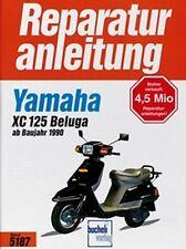 WERKSTATTHANDBUCH REPARATURANLEITUNG WARTUNG 5187 YAMAHA XC 125 BELUGA (AB 1990)