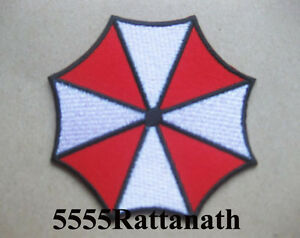Umbrella Corp Resident Evil Patch 7.5x7.5cm 3""