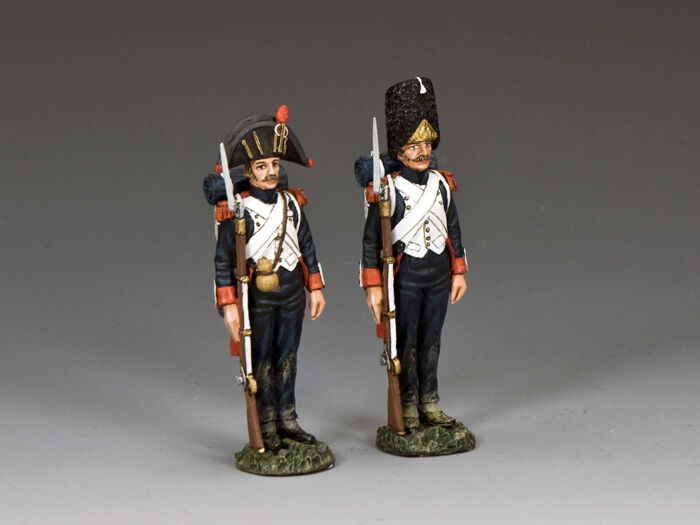 King and country  en guardia  (2 X NA409 Figura Set)