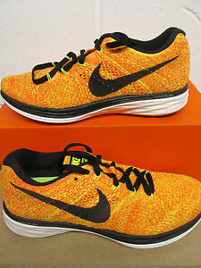 premium selection 165fc b8624 Image is loading nike-womens-flyknit-lunar3-trainers-698182-700-sneakers-