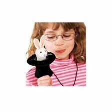 Mini Rabbit in Hat Finger Puppet by Folkmanis - 2709