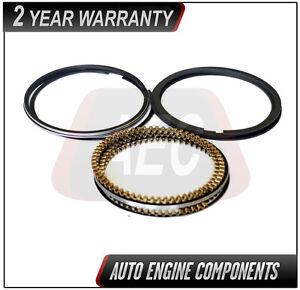 SIZE 030 4 DOHC Piston Ring Set Fits Honda Accord CR-V Element 2.4 L K24A1
