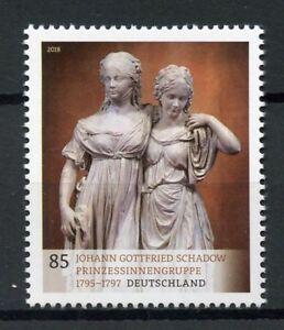 Germany-2018-MNH-Museum-Treasures-Johann-Gottfried-Schadow-1v-Set-Art-Stamps