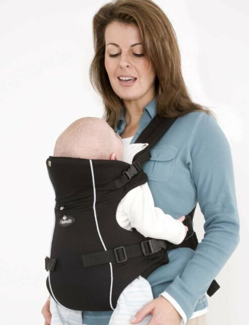 Clippasafe Carramio Baby Carrier Black 2 Position Front Facing Sling