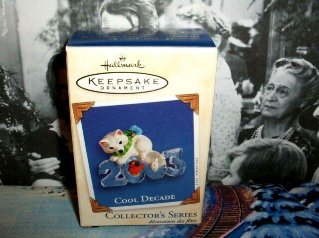 2000 Hallmark Keepsake Ornament Cool Decade #1 Exclusive Member Repaint Colorway