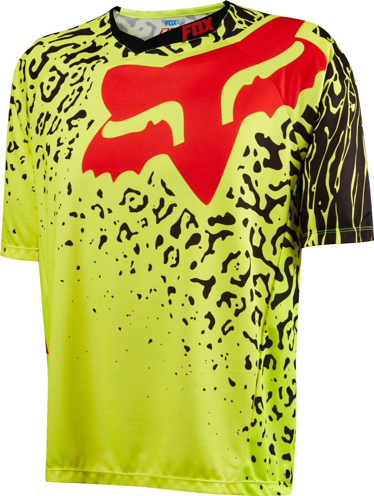 Fox Racing 2016 Demo Cauz s s Jersey Flo Yellow   outlet online