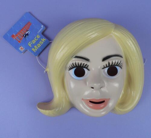 Lady Penelope Thunderbirds Face Masque Dekker Toys 1999 Inutilisé stock Avec Tag