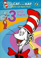 Cat in the Hat Knows a Lot About That!  3 DVD Pack  Like New Ocean Commotion + 2
