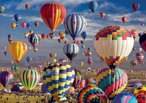 Educa Hot Air Balloons Jigsaw Puzzle 1500 Pieces