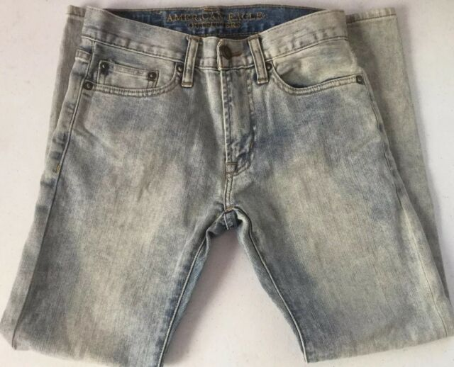 a07ce8a18f5 American Eagle Outfitters Boys Jeans 26 x 28 NEW Slim Straight Leg Faded  Blue