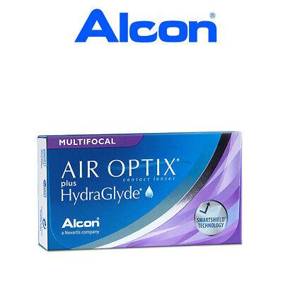 Air Optix Plus Hydraglyde Multifocal, 6er Box