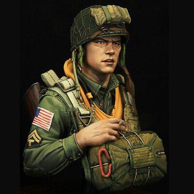 Zone 72 bu-6 English paratrooper 1//10 bust resin paratrooper English resin
