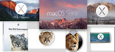 USB3.0/2  64GB Mac OS X All IN ONE Sierra/ElCapitan/Yosemite etc...