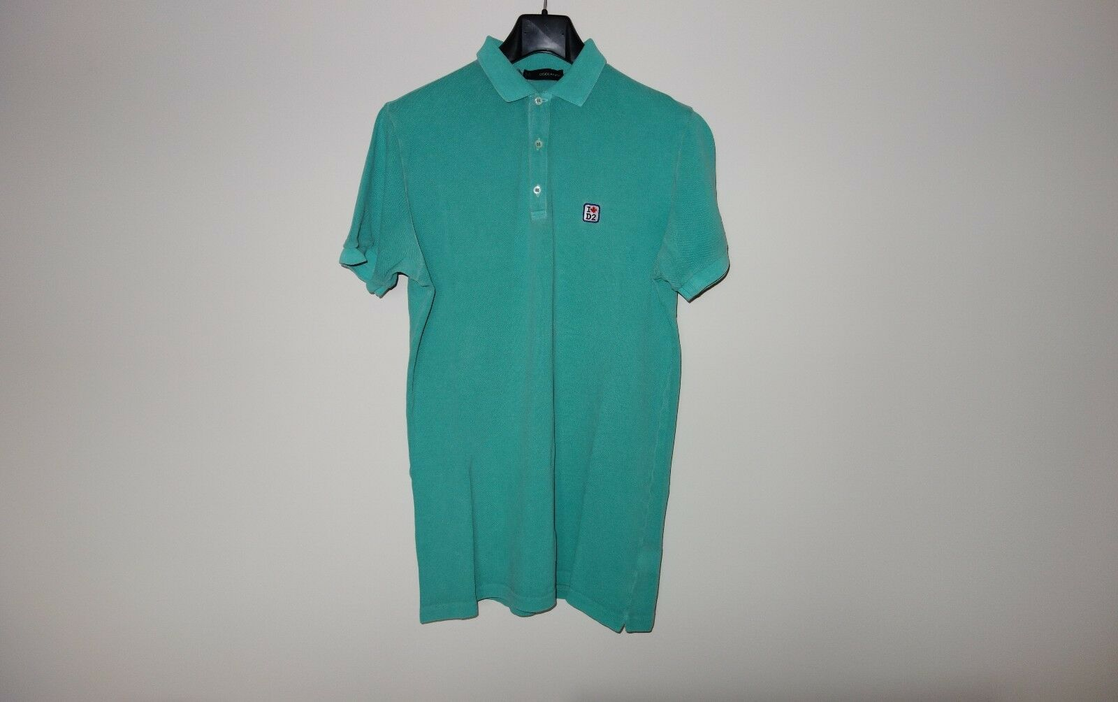 DsquaROT² Runway I LOVE D2 T-shirt Polo M SS/10 74GC594 Made in   , RARE