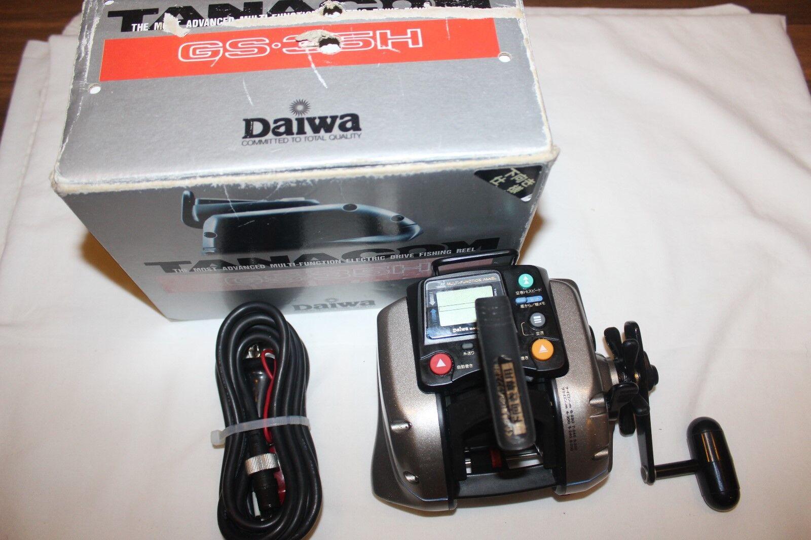 DAIWA TANACOM GS-35-H-ELEKTRoroLLE-NEU IM OVP-MADE IN JAPAN-Nr-904