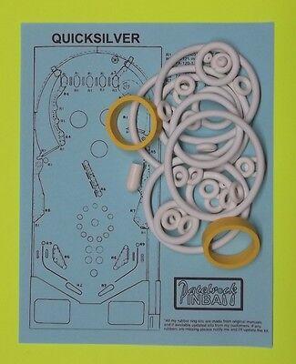 1980 Stern Quicksilver pinball rubber ring kit
