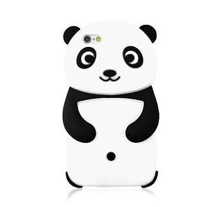 Détails Sur 3d Panda Mignon Dessin Animé Silicone étui Housse Pour Iphone 7 7 Plus 6 S 6s 5 Se Afficher Le Titre Dorigine