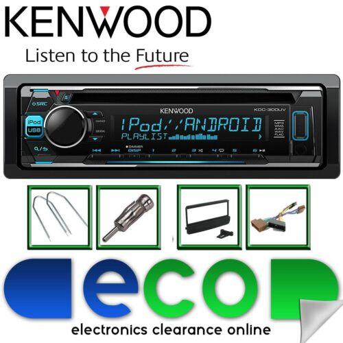 Ford Focus MK1 98-04 KENWOOD CD MP3 Usb Aux Pantalla de Color multi KIT de estéreo de coche
