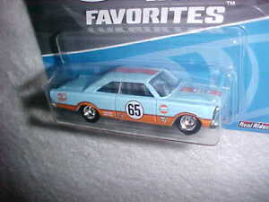 HOT-WHEELS-50th-Anniversary-Favorites-039-65-FORD-GALAXIE-REAL-RIDERS-VHTF-NEW