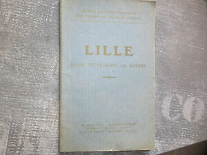 WWI-14-18-1914-1918-Guide-Michelin-Lille-Champs-de-bataille