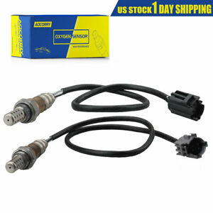 image is loading upstream-amp-downstream-o2-oxygen-sensor-for-97-