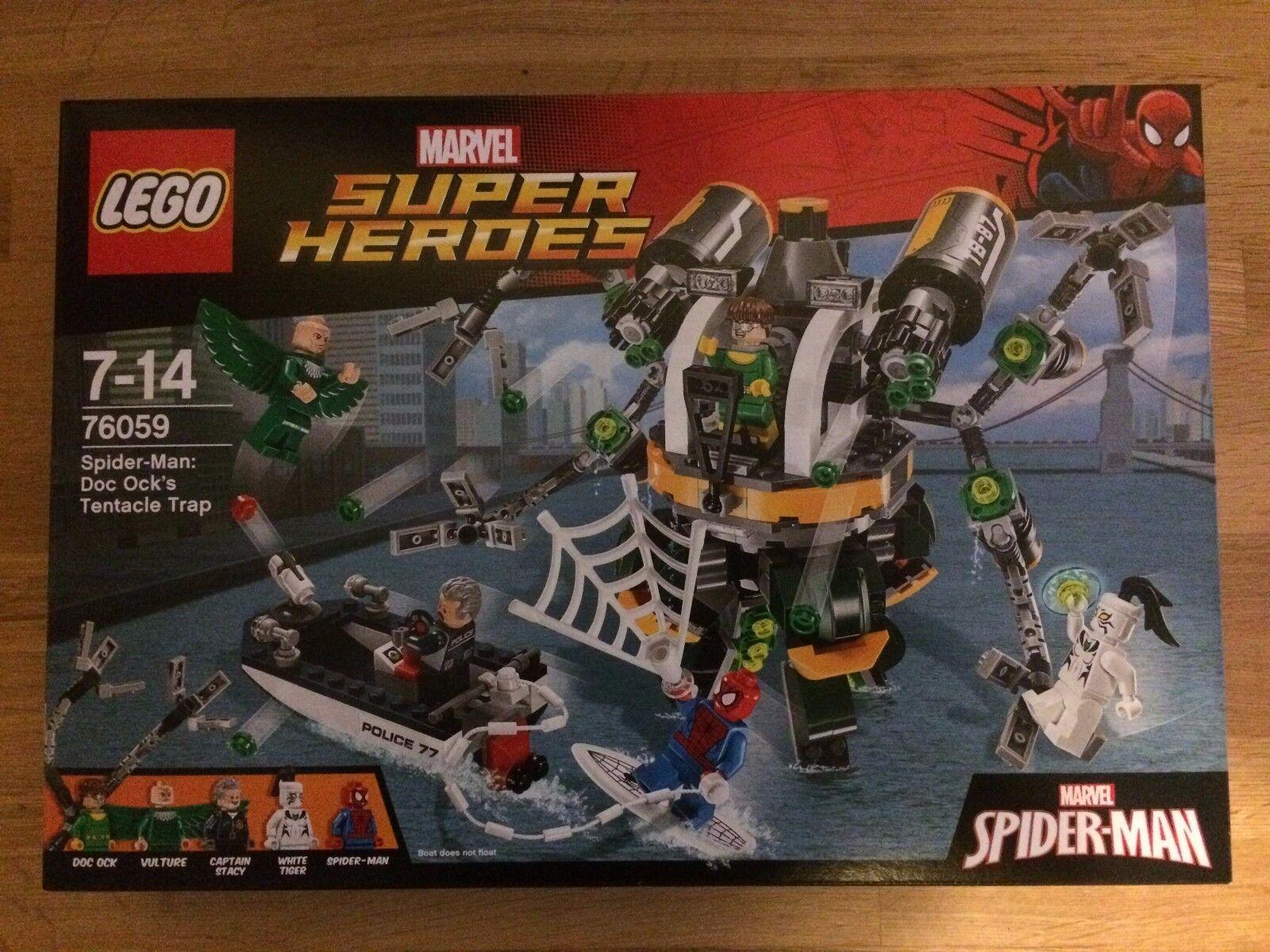 LEGO Marvel Super Heroes Set 76059 DOC COLI Tentacolo Trappola