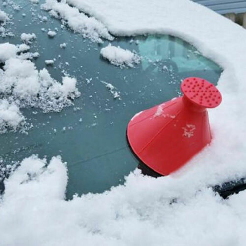 4 Pack Magical Car Windshield Ice Snow Scraper Remover Cone Shape Cleaner Funnel