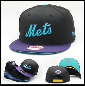 f1307af0e1f New Era New York Mets Snapback Hat Cap Designed For Air Jordan Retro ...